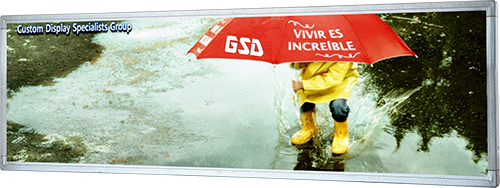 RESIZED DISPLAYS | GSD